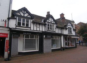 Thumbnail Retail premises for sale in Chestergate Mall, Grosvenor Centre, Macclesfield