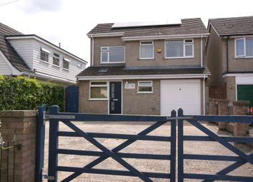 Thumbnail 4 bed detached house for sale in Wareham Road, Corfe Mullen, Wimborne