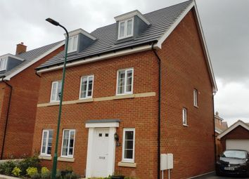Thumbnail 5 bedroom detached house for sale in Lima Way, Peterborough
