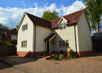 Thumbnail 3 bed detached house for sale in Chapel Row, Wickhambrook, Suffolk