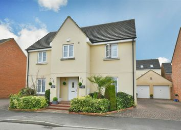 Thumbnail 4 bed detached house for sale in Scholars Park, Rowde, Devizes