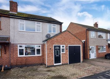 Thumbnail 3 bed semi-detached house for sale in Stafford Close, Bulkington