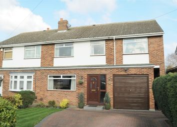 Thumbnail 4 bed semi-detached house for sale in Canford Close, Great Baddow, Chelmsford, Essex