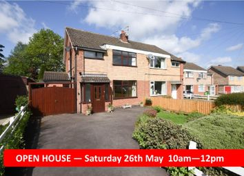 Thumbnail 3 bed semi-detached house for sale in Fairstone Hill, Oadby, Leicester