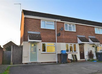 Thumbnail 1 bed end terrace house for sale in The Hedgerows, Stevenage