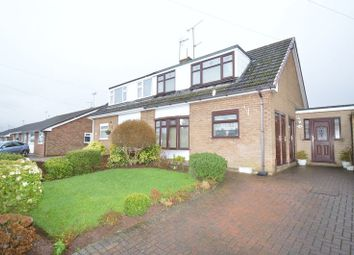 Thumbnail 3 bed semi-detached house for sale in The Close, Langwith Junction, Mansfield