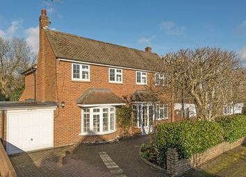 Thumbnail 5 bed detached house for sale in Evelyn Way, Stoke D'abernon, Cobham