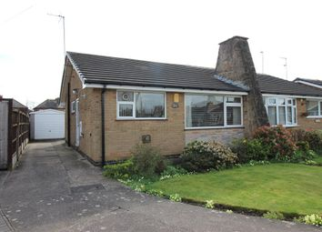 Thumbnail 2 bed semi-detached bungalow for sale in Newborough Road, Alvaston, Derby