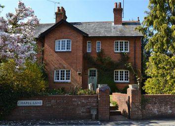 Thumbnail 4 bed end terrace house for sale in Chapel Lane, Curridge, Berkshire