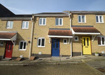 Thumbnail 2 bed terraced house for sale in Lambert Close, Hadleigh, Ipswich