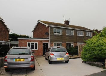 Thumbnail 3 bed semi-detached house for sale in Drake Avenue, Eastbourne