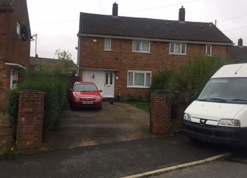 Thumbnail 3 bed semi-detached house to rent in Hollybush Road, Luton