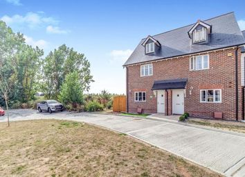 Thumbnail 3 bedroom end terrace house for sale in Holly Blue Drive, Iwade, Sittingbourne, Kent