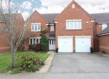 Thumbnail 5 bed detached house for sale in Pyke Way, Crick, Northampton