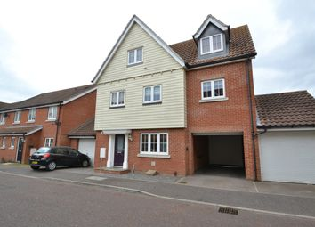 Thumbnail 5 bed detached house for sale in Radvald Chase, Stanway, Colchester