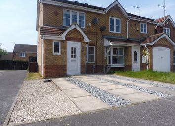 Thumbnail 2 bedroom end terrace house to rent in Lavender Close, Kingswood, Hull