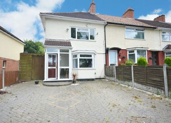 Thumbnail 3 bed end terrace house for sale in Cleeve Road, Yardley Wood, Birmingham