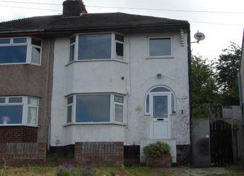 Thumbnail 3 bed property for sale in Sunnyside, Bagillt, Flintshire