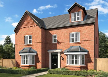 Thumbnail 5 bed detached house for sale in Plot 31, The Stratford, Newcastle Road, Arclid, Cheshire