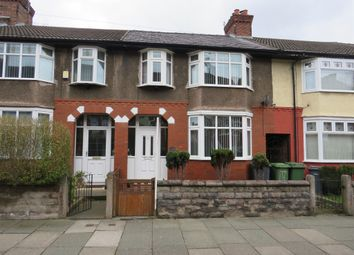 Thumbnail 3 bed terraced house for sale in Hinderton Road, Tranmere, Birkenhead