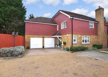 Thumbnail 4 bed detached house for sale in London Road, Wrotham Heath, Sevenoaks, Kent