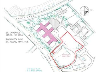 Thumbnail Land for sale in Blackbrook Road, St Helens