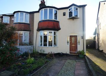 Thumbnail 3 bed semi-detached house to rent in Norman Avenue, Harborne, Birmingham