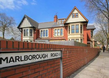 Thumbnail 2 bed flat to rent in Marlborough Road, Roath, Cardiff