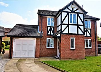 Thumbnail 4 bedroom detached house for sale in Shetland Close, Hull