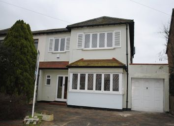 Thumbnail 4 bed semi-detached house to rent in Western Road, Leigh-On-Sea