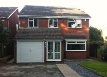 Thumbnail 4 bed property to rent in Wyvern Close, Sutton Coldfield