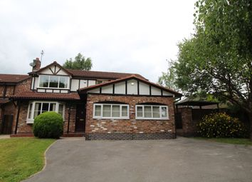 Thumbnail 4 bed detached house to rent in Hazelwood Road, Wilmslow