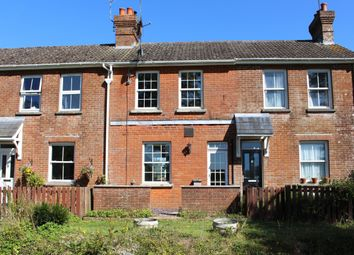Thumbnail 2 bed terraced house for sale in Railway Cottages, Station Road, West Meon, Petersfield