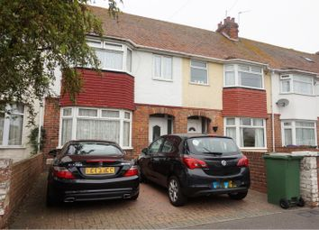 Thumbnail 3 bed terraced house for sale in Kings Road, Folkestone