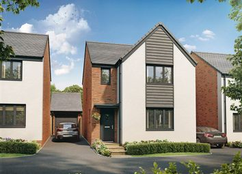 "Thumbnail 3 bed detached house for sale in ""The Hatfield"" at Church Road, Old St. Mellons, Cardiff"