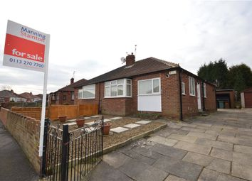 Thumbnail 2 bed semi-detached bungalow for sale in Staithe Avenue, Leeds, West Yorkshire