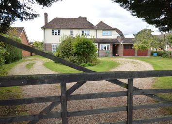 Thumbnail 5 bed detached house for sale in Theale Road, Burghfield, Reading