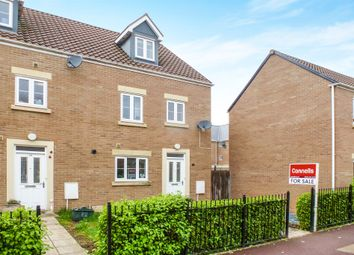Thumbnail 4 bed end terrace house for sale in Morse Road, Norton Fitzwarren, Taunton