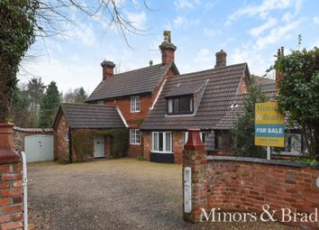 Thumbnail 5 bed detached house for sale in Church Lane, Wroxham, Norwich