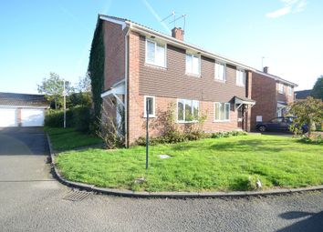 Thumbnail 3 bedroom semi-detached house to rent in Godstow Close, Woodley, Reading