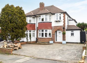 Thumbnail 3 bed property for sale in Woodlands Avenue, Worcester Park