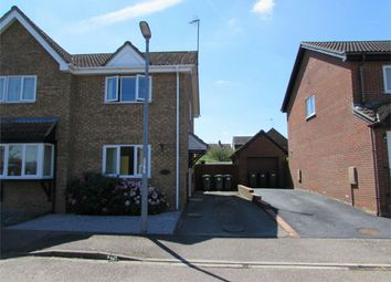 Thumbnail 2 bed semi-detached house to rent in Grange Close, Sawtry, Huntingdon