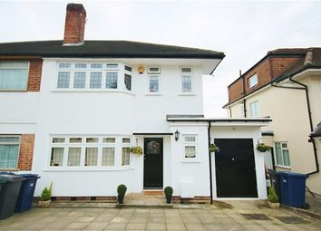 Thumbnail 3 bedroom semi-detached house for sale in Manor Drive, London