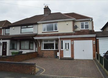 Thumbnail 3 bed semi-detached house for sale in Carlton Avenue, Wednesfield, Wednesfield