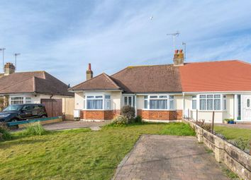 Thumbnail 3 bed semi-detached bungalow for sale in Burnham Road, Worthing, West Sussex