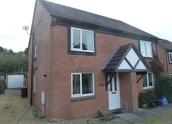 Thumbnail 2 bed semi-detached house to rent in 21 Swains Meadow, Church Stretton
