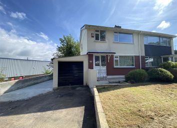 Thumbnail 3 bed semi-detached house for sale in Cot Hill, Plympton, Plymouth
