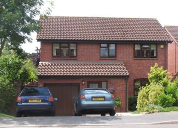 Thumbnail 4 bed detached house to rent in Berkeley Crescent, Frimley, Camberley