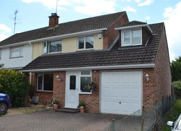 Thumbnail 4 bed semi-detached house for sale in Millers Road, Tadley
