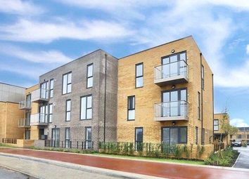 Thumbnail 2 bed flat for sale in Brooklands Square, Brooklands, Milton Keynes
